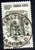 T1318 - Venezuela , POSTA AEREA Yvert N. 407  Usato. LARA - Venezuela