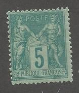 FRANCE - N°75 NEUF* AVEC CHARNIERE - COTE YT : 40€ - 1876