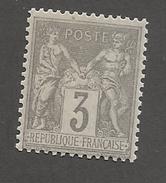 FRANCE - N°87 NEUF** SANS CHARNIERE - COTE YT : 16.50€ - 1880