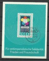 DEUTSCHLAND DDR 1973 Block 38 O