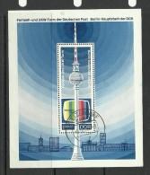DEUTSCHLAND DDR 1969 Block 30 O