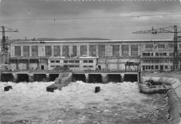 Chantier D'OTTMARSHEIM - Vue Aval De L'usine - CPSM Grand Format - Ottmarsheim