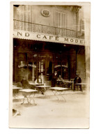 "Sollies Pont Var ""  Grand Café Moderne "" Raymond Boyer "" Siege Du CSSP "" Club Sportif Sollies Pontois "" Carte Photo - Sollies Pont"