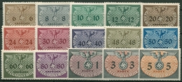 Generalgouvernement Dienstmarken 1940 D 1/15 Mit Falz