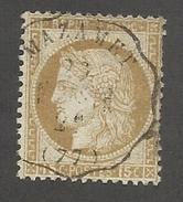 FRANCE - N°55 OBLITERE AVEC CAD MAZAMET - COTE YT : 5€ - 1873