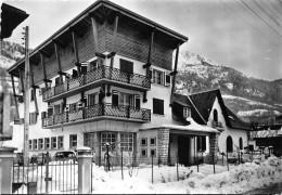 "ST LARY - ""la Terrasse Fleurie"" Hôtel Restaurant Bar - CPSM Grand Format - France"