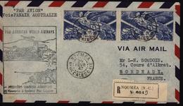 Nouvelle Calédonie Australie Avion Aviation Pan Américan World Airways Nouméa Sydney Recommandée YT Ae 54 Poste Aérienne