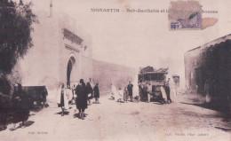 MONASTIR Bab-Barikcha Et Le Courrier De Sousse (Berliet)