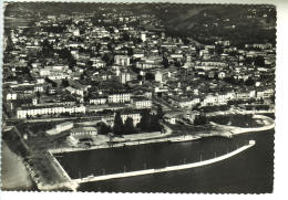 Italy Italia 1965 Lago Maggiore Verbania Intra Aereo Cartolina FG VG Postcard - Verbania