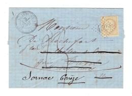 LETTRE DE L´ALLIER 1872