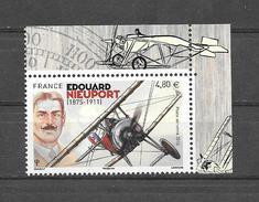 France Poste Aerienne Edouard Nieuport , De Feuille De 10