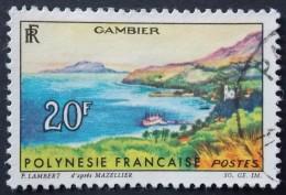 Polynésie Française   YT N° 34 (o)  GAMBIER