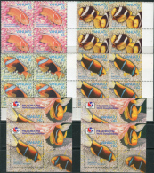Vanuatu 1994. Michel #964/67+Bl.#23 MNH/Luxe. Anemone Fish. (Ts53)