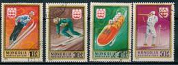 Ph-Mongolie-Jeux Olympiques à Innsbruck 1975 Oblitérés - Mongolia