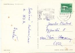 K9756 - DDR (1984) Dresden: Museum Of Folk Art (postcard: Schloss Moritzburg) Tariff: 10 Pf