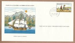 Norfolk Island  FDC 1981  International Society Of Postmasters - Pitcairn Migration