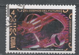 Cuba 1974. Scott #1884 (U) Flight Through Space, Painting By A. Sokolov * - Cuba