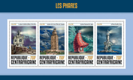 CENTRAL AFRICA 2016 - Lighthouses. Official Issue