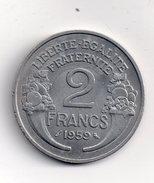 REF 1  : Monnaie COIN FRANCE 2 Francs 1959 - I. 2 Franchi