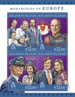 SOLOMON Isl. 2016 - Monarchies Of Europe