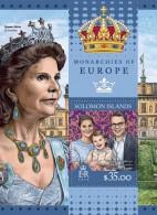 SOLOMON Isl. 2016 - Monarchies Of Europe S/S