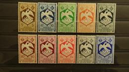 """AEF 1941 N°141 à 154, Série """"de Londres"""" Complète (14 Valeurs Neuves** TB), Cote 9 €"""
