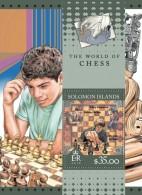 SOLOMON Isl. 2016 - Chess: G. Kasparov, B. Fischer, M. Carlsen S/S