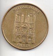REF 1  : Jeton Touristique Monnaie De Paris Notre Dame 2003 - Monnaie De Paris
