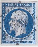 N° 14 A  /  PC 3661    VITRY-LE-FRANCOIS    /  LOIRET     LOT 14112    + VARIETE - 1853-1860 Napoleon III