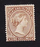 Falkland Islands, Scott #4, Mint Never Hinged, Queen Victoria, Issued 1878 - Falkland Islands