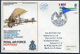 1969 GB Royal Air Force Museum Cover SC3 / RAF Northolt - 1952-.... (Elizabeth II)