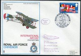1969 GB Royal Air Force Museum Cover SC4 / RAF Chivenor BFPS NATO - 1952-.... (Elizabeth II)