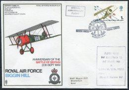 1969 GB Royal Air Force Museum Cover SC 6 / RAF Biggin Hill 'Battle Of Bitain' BFPS - 1952-.... (Elizabeth II)