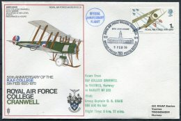 1970 GB Royal Air Force Museum Cover SC 8 / RAF College Cranwell BFPS - 1952-.... (Elizabeth II)
