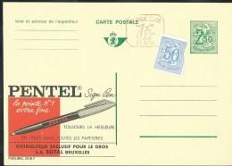 Publibel Neuve N° 2516 + P. 010 ( Pentel; Stylo) - Stamped Stationery