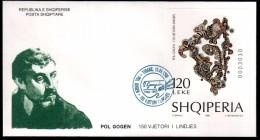Albania Stamp 1998. Paul Gauguin, 150th Birth Anniversary. Painting, Sculpture, Art. FDC Block MNH. Mich. 114