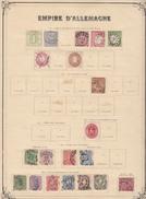 Antica Collezione Germania E Reich 1870-1950 In Maggioranza Usati In Buone Condizioni Generali - Francobolli
