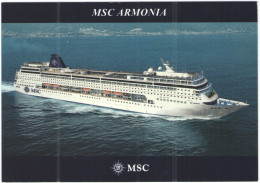 MSC ARMONIA - MSC Cruises - Not Sent - Steamers