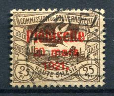 98676) ABSTIMMUNGSGEBIETE Oberschlesien # 33 Gestempelt Aus 1921, 40.- €