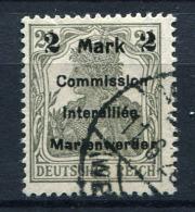 98695) ABSTIMMUNGSGEBIETE Marienwerder # 23 AI B Gestempelt Aus 1920, 80.- €