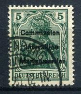 98696) ABSTIMMUNGSGEBIETE Marienwerder # 15 Gestempelt Aus 1920, 35.- €