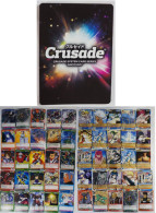 Crusade : 50 Japanese Trading Cards - Trading Cards