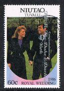 Tuvalu - Niutao 1986 Royal Wedding (2nd) 60c Type 1 Good/fine Used [9/10870/2D]