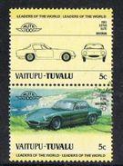 Tuvalu - Vaitupu 1984 Automobiles (2nd) 2 X 5c Pair Good/fine Used [9/10866/2D] - Tuvalu