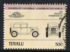 Tuvalu SG297 1984 Automobiles (1st) 50c Good/fine Used [9/10864/2D]