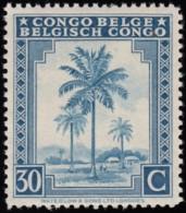 CONGO BELGIAN - Scott #192 Oil Palms / Mint NH Stamp