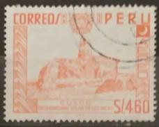 PERÚ 1966 Correo Aéreo. Motivos Nacionales. Serie De 1952-53. I.N.E En El Pie De Imprenta. USADO - USED - Peru
