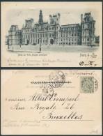 AH247 Carte Postale De Paris Rue Fontaine Vers Bruxelles 1900 - Cartes Souvenir