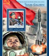 DJIBOUTI 2016 ** Yuri Gagarin Space Raumfahrt Espace S/S - OFFICIAL ISSUE - A1642