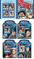DJIBOUTI 2016 ** Yuri Gagarin Space Raumfahrt Espace M/S+5S/S - OFFICIAL ISSUE - A1642